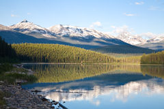 озеро patricia рассвета Стоковое фото RF