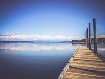 Озеро Peacefull Стоковые Фотографии RF