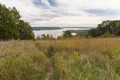 Озеро Pepin река Миссисипи Стоковое фото RF