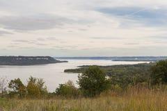 Озеро Pepin река Миссисипи Стоковые Фото
