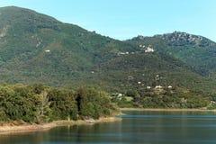 Озеро Peri в горе Корсики Стоковые Изображения RF