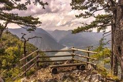 Озеро Perucac в Сербии Стоковые Фото