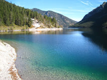 Озеро Plansee Стоковое Изображение