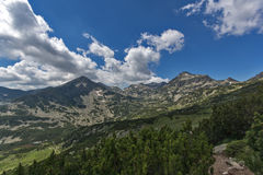 Озеро Popovo, гора Pirin Стоковое Изображение RF