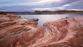 Озеро Powel Стоковое Изображение