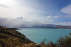 Озеро Pukaki Стоковое Изображение