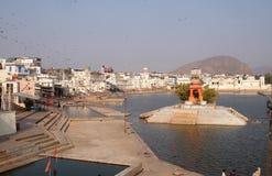 Озеро Pushkar, Индия стоковые фото