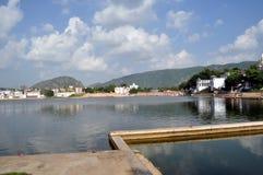 озеро pushkar стоковое фото rf