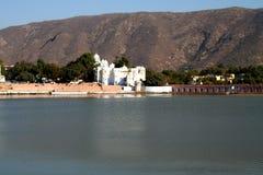 озеро pushkar стоковая фотография rf