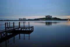озеро putrajaya Стоковое фото RF