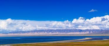 озеро qinghai стоковые фото