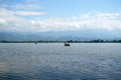 Озеро Qionghai в ¼ ŒChina Xichangï Стоковые Фотографии RF