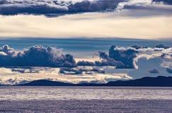 Озеро r Namtso, Тибет Стоковая Фотография RF