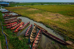 Озеро Rawapening засух стоковое фото