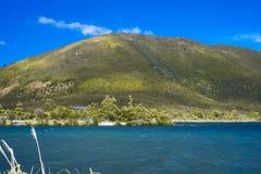 Озеро Rotoaira Стоковые Фото
