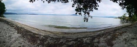Озеро Rotorua красивое стоковое фото