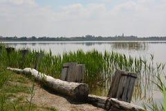 Озеро Rusanda в Сербии Стоковое Изображение RF
