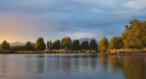 Озеро Sahuarita Стоковое Изображение