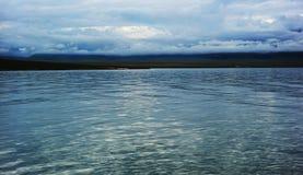 Озеро Sailimu стоковое фото rf