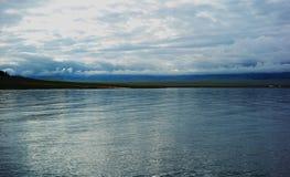 Озеро Sailimu стоковая фотография rf