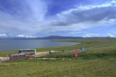 Озеро Sailimu Стоковые Фото