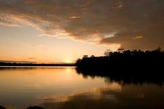 озеро sandoval Стоковые Изображения RF