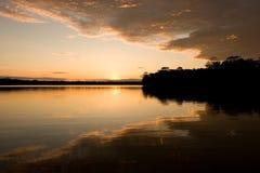 озеро sandoval Стоковые Изображения