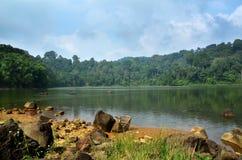 Озеро Sangiang Стоковые Изображения RF
