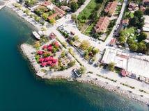 Озеро Sapanca в Sakarya/Турции/Pedalo Стоковая Фотография