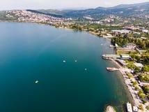 Озеро Sapanca в Sakarya/Турции/Pedalo Стоковые Фотографии RF