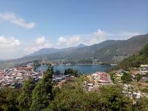 Озеро Sarangan стоковая фотография rf