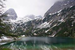 Озеро Seebensee Стоковое Изображение RF