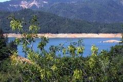 Озеро Shasta Стоковое Изображение