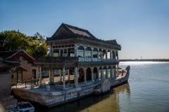 Озеро Shifang Kunming летнего дворца Пекина Стоковые Фотографии RF
