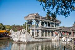 Озеро Shifang Kunming летнего дворца Пекина Стоковое Изображение RF