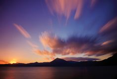 Озеро Shikotsu стоковое фото
