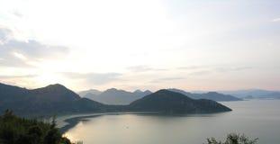 Озеро Shkoder Стоковые Изображения RF