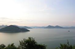 Озеро Shkoder Стоковые Фотографии RF