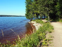 озеро siljan Швеция Стоковые Фото
