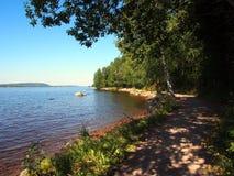 озеро siljan Швеция Стоковые Фотографии RF