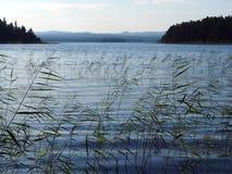 озеро siljan Швеция Стоковые Изображения