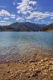 Озеро Siriu, Румыния Стоковая Фотография