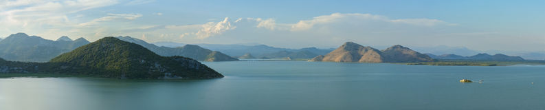 Озеро Skadar - jezero Skadarsko Стоковые Фотографии RF