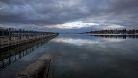 Озеро Skaneateles Стоковые Изображения RF