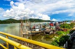 Озеро Songkhla Стоковая Фотография