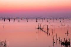Озеро Songkhla Стоковая Фотография RF