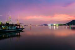Озеро Songkhla Стоковые Фотографии RF