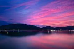 Озеро Songkhla Стоковые Изображения RF