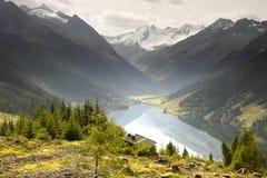 Озеро Speicher Durlassboden Стоковые Фотографии RF