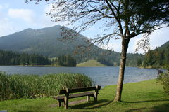 озеро spitzing Стоковое Изображение
